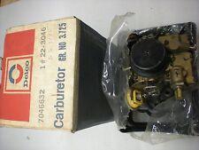 NOS ROCHESTER MONOJET CARBURETOR 7046632 1972 CHEVY 140 ENGINE MANUAL TRANS