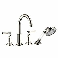 Hansgrohe 16550831 Axor Montreux 4 Hole Roman Tub Trim with Lever Handle