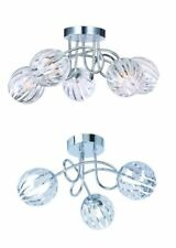 Artículos de iluminación de techo de interior de color principal transparente de baño