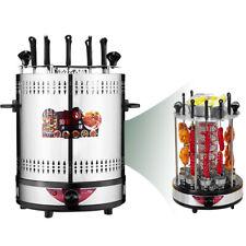 Electric Vertical Rotisserie Grill 10 Kebab Skewer with Timer Doner Kebab 1350W