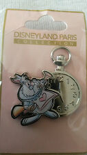 Pastel White Rabbit and Pocket Watch (Alice) Disney Paris Dlrp Dlp June 2017 Pin