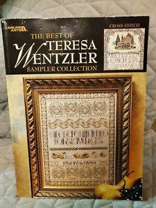 The Best of Teresa Wentzler Sampler Collection Cross Stitch Book