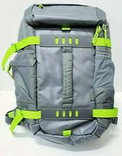 """HP Odyssey 15.6"""" Laptop Backpack - Grey & Green"""