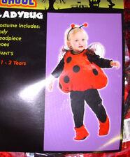 Ladybug Lady Bug  Plush Vest Halloween Costume 1-2 NWT
