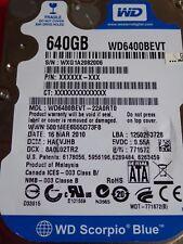 Western Digital WD6400BEVT-22A0RT0 | HACVJHB | 16 DE MARZO DE 2010 | 640 GB #15