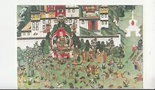 BF28293 a warm welcome to princes wen zuglakang temple  china   front/back image