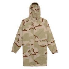 Men's Stussy Light Ripstop Hooded Jacket SZ L Sand Camo hoodie 115326