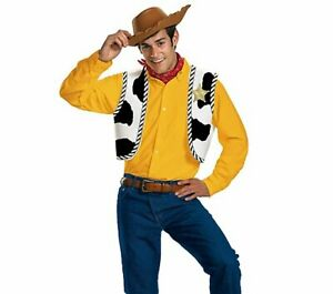 Disney Toy Story - Woody Adult Kit Costume One Size Fits Most New
