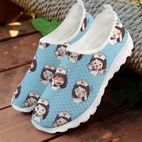 Smart Nurse Shoes Womens Casual Sneakers Breathable Sneaker Walking Sports Shoes