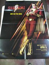 H619 Shazam Movie LWCanvas Poster 14x21 24x36 Mark Strong David F Sandberg
