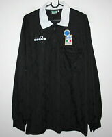 198688 ITALY Vintage Retro Diadora Football Training Shirt (M) (L) Mexico 86