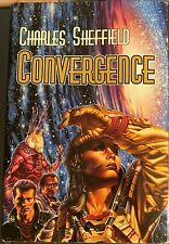 Convergence by Charles Sheffield (1997, First Edition, Hardcover)