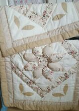 Patchwork Padded Pillow Shams
