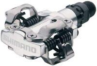 Shimano PD-M520 SPD Pedals- Black / Silver NEW EPDM520L/EPDM520S