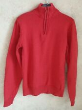 Pull manches longues, rouge, col montant, taille 12 ans, garçon, marque RKIDS