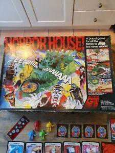 Original Vintage Action GT Horror House Board Game