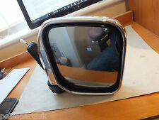 Genuine Mitsubishi L200 96-04 Chrome R/H heated door mirror  MR155598  M85