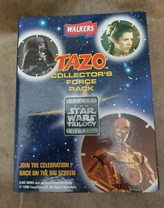 Star Wars Trilogy Edition,Tazo Collectors Force Pack (Complete)