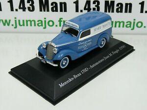 SER21G 1/43 SALVAT Vehiculos Inolv. Servicios: Mercedes-Benz 170D Fangio (1954)