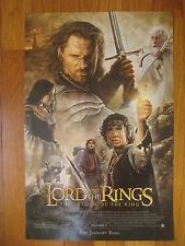 The Lord of the Rings Return of the King mini Movie Poster 17 x 11 classic vtg
