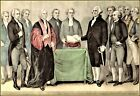 Currier & Ives : The Inauguration of Washington Art Print