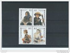 LOT : 042015/999A - MACAO 1997 - YT N° 852/855 NEUF SANS CHARNIERE ** (MNH) GOMM