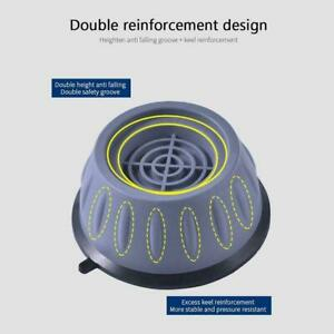 4Pcs Anti-Vibration Feet Pads Washing Machine Rubber Base hj4 Mat Non-Slip new