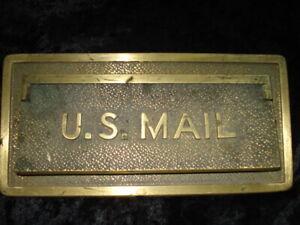 Vintage U.S. Mail Door Slot