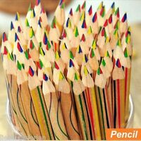 L/P 10 Mehrfarbig Regenbogen Stift Stifte Schreibwaren 17.5cm