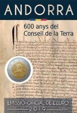 Andorra 2 euro 2019 ** 600 Anys del condeil de la terra**