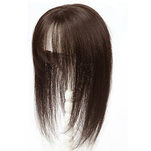 Large Cover Loss Hair Top Piece Wiglet Topper  100% Human Hair Topper For Women
