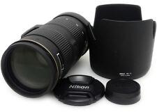 Nikon AF-S Nikkor 80-200mm F2.8 D ED Lens. HB-17 Hood