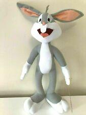 "New Large Looney Tunes Bugs Bunny Rabbit Plush 13"". Nwt. Soft"