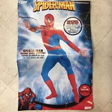 Spiderman Marvel Deluxe Disguise Halloween Costume Adult X-Large 42-46 New