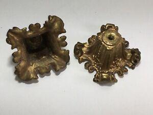 Antique Cast Brass Decorative Cups For Chandelier Lighting Craft