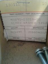 5x18mm screw washer 9pk 93891-05018-00  nos honda r2d2
