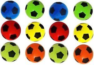 New 12X Soft Foam Sponge Ball Outdoor & Indoor Foot Ball random Colours