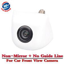 Universal Car Front View Camera Backup Camera Non-mirror + No Guide Line (White)