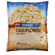 Coles Snap Frozen Cauliflower Prepacked 500g