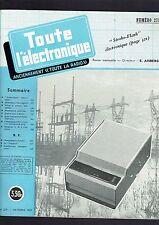 TOUTE L'ELECTRONIQUE N°279   1963