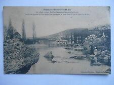 """CPA """"Besançon historique - Les rochers de Chaudanne tombés dans le Doubs"""""""