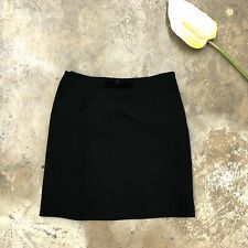 Moschino Couture Black Mini Skirt Straight Bow IT 44 Italy