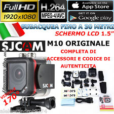 MICRO action cam SJCAM M10 FULL HD 1920x1080p 12M Subacquea Sport camera MINI DV
