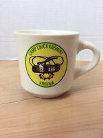 BSA Camp Chickahominy Virginia Coffee Cup Mug SE 496 Boy Scouts Vintage
