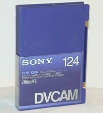Dvcam 124 min. Video Tapes