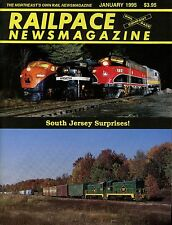 Railpace NewsMagazine January 1995 Vol 14 No 1 South Jersey Suprises!