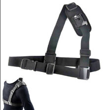 Montaje de una sola Correa de Hombro Pecho De Cinturón Arnés Adaptador para GoPro 1 2 3 3+ 4