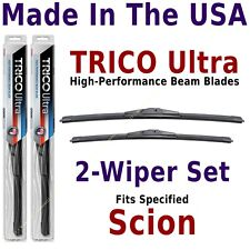 Buy American: TRICO Ultra 2-Wiper Blade Set fits listed Scion: 13-24-16