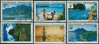 French Polynesia 1974 Sc#278-283,SG180-185 Polynesian Landscapes set FU