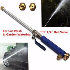 18'' Aluminium High Pressure Car Washer Spray Nozzle Water Gun Hose with 2 Tips